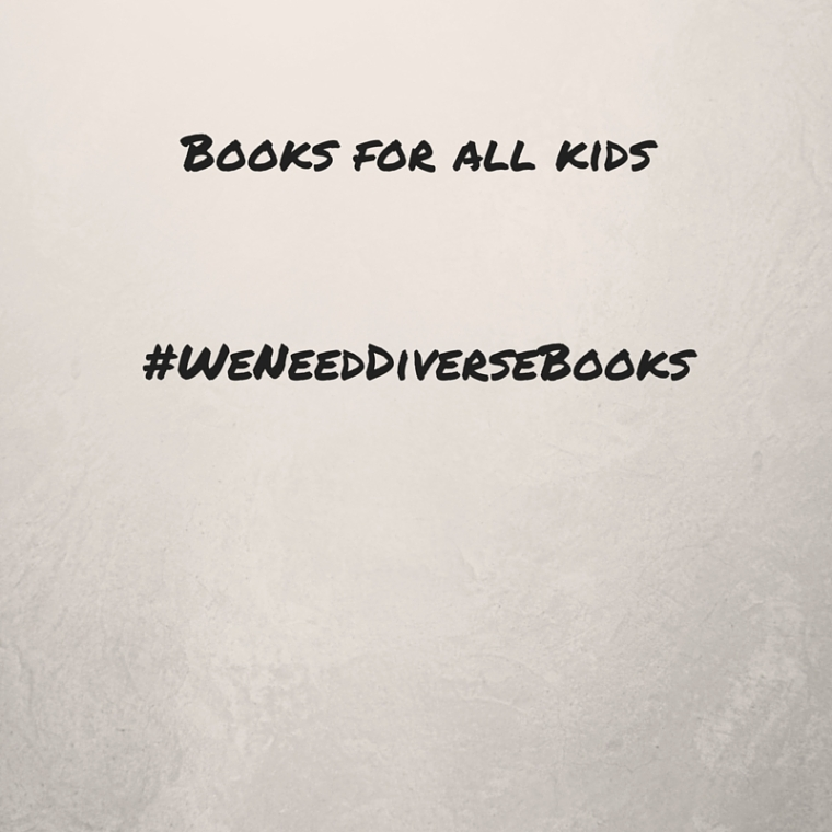Books for all kids#WeNeedDiverseBooks