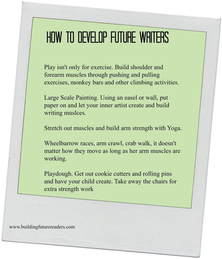 Develop Future Writers